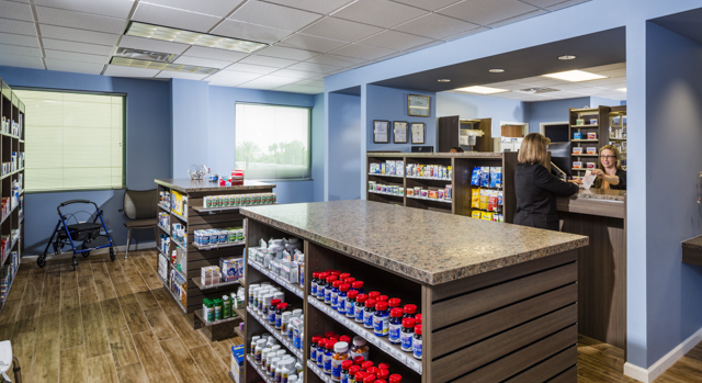 CentRx Pharmacy interior shot.