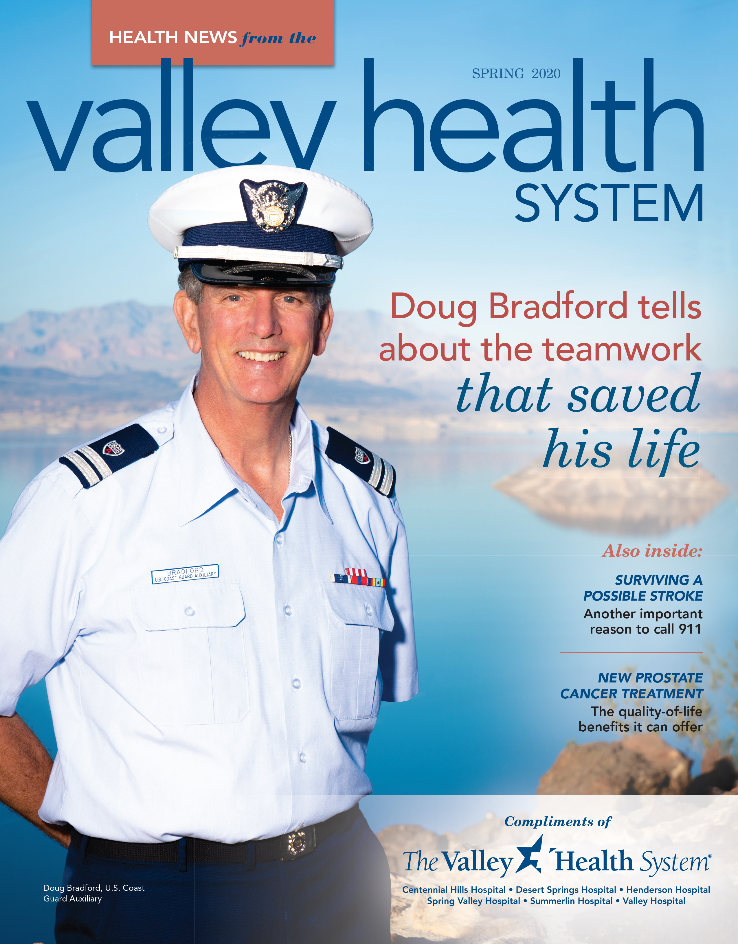 Valley Health System Health News Spring 2020 cover