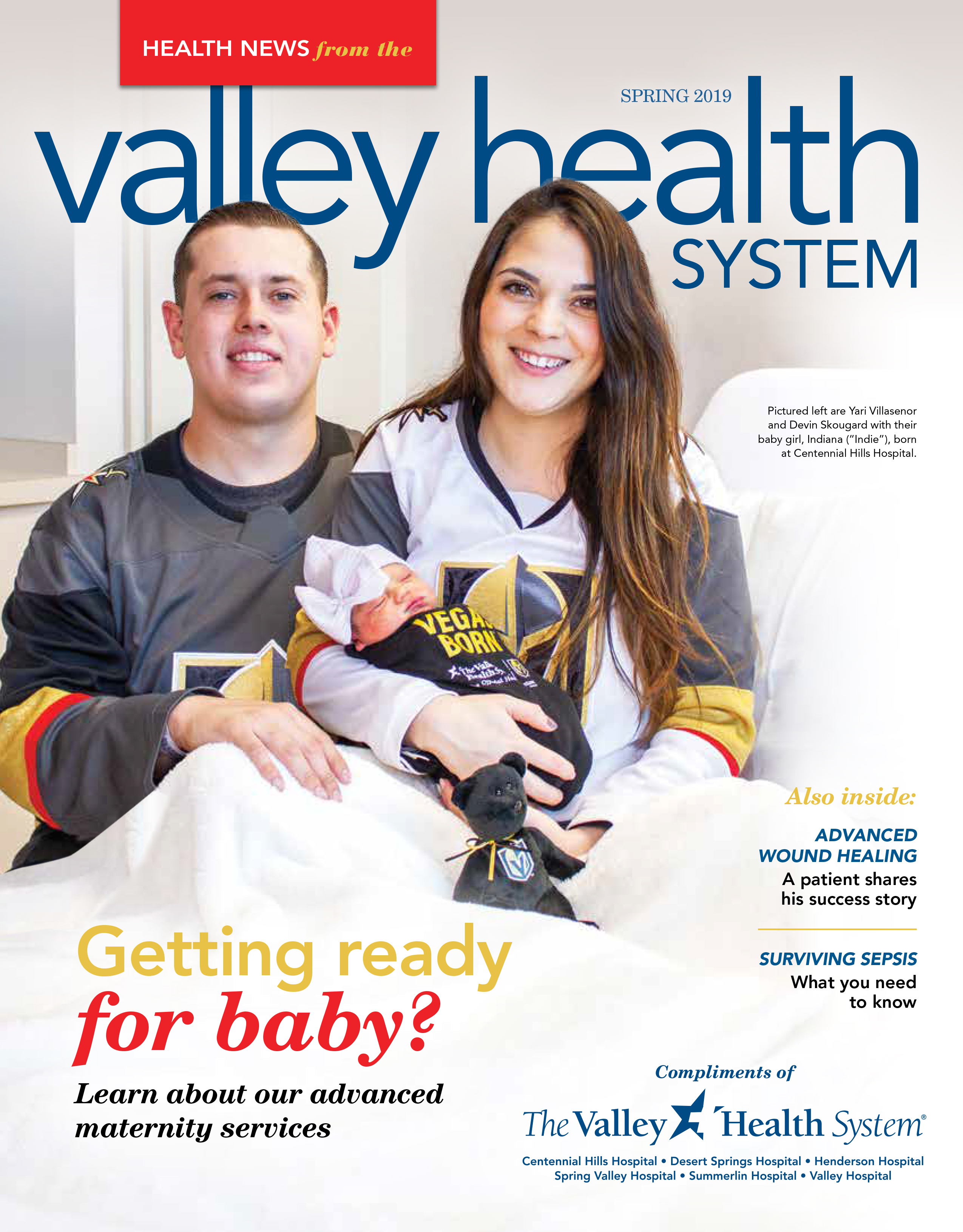 Valley Health System Health News Spring 2019 cover