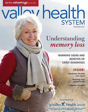 Valley Health System Senior Advantage Winter 2017