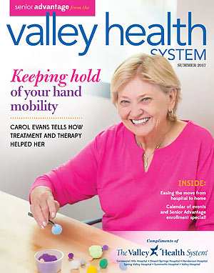 Valley Health System Senior Advantage Summer 2017