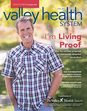 VHS Health News Magazine Fall 2017 Cover