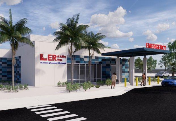 Centennial Hills Hospital anuncia que comienza el trabajo en el sitio del nuevo departamento de emergencias independiente en North Las Vegas