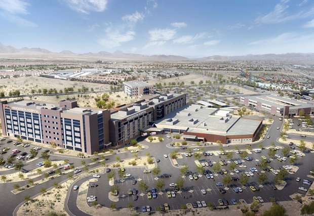 Construction Underway on New Patient Tower at Henderson Hospital