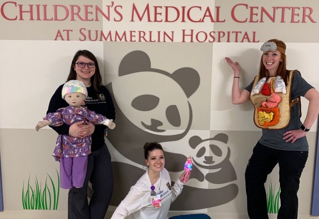 Children's Medical Center at Summerlin Hospital Celebrates Child Life Month