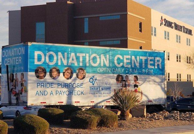 Opportunity Village y The Valley Health System trabajan juntos para ofrecer más sitios para donaciones