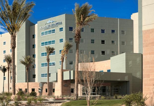 Summerlin Hospital to Undergo  $16 Million Expansion, Renovation Program