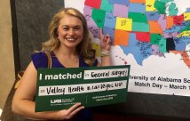 El consorcio de Valley Health System GME ocupa el 100 por ciento de las vacantes en la residencia para los programas inaugurales