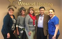 Valley Hospital Recognized with National Award for Clinical Excellence in Wound Care Services